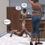 Порно комикс black jack встреча с джонсонами