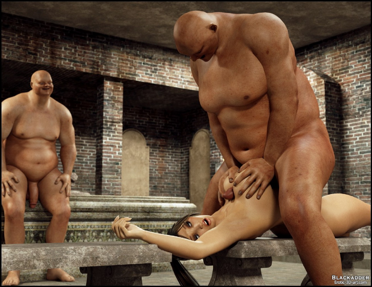 Tomb rider vs monster sex sex video