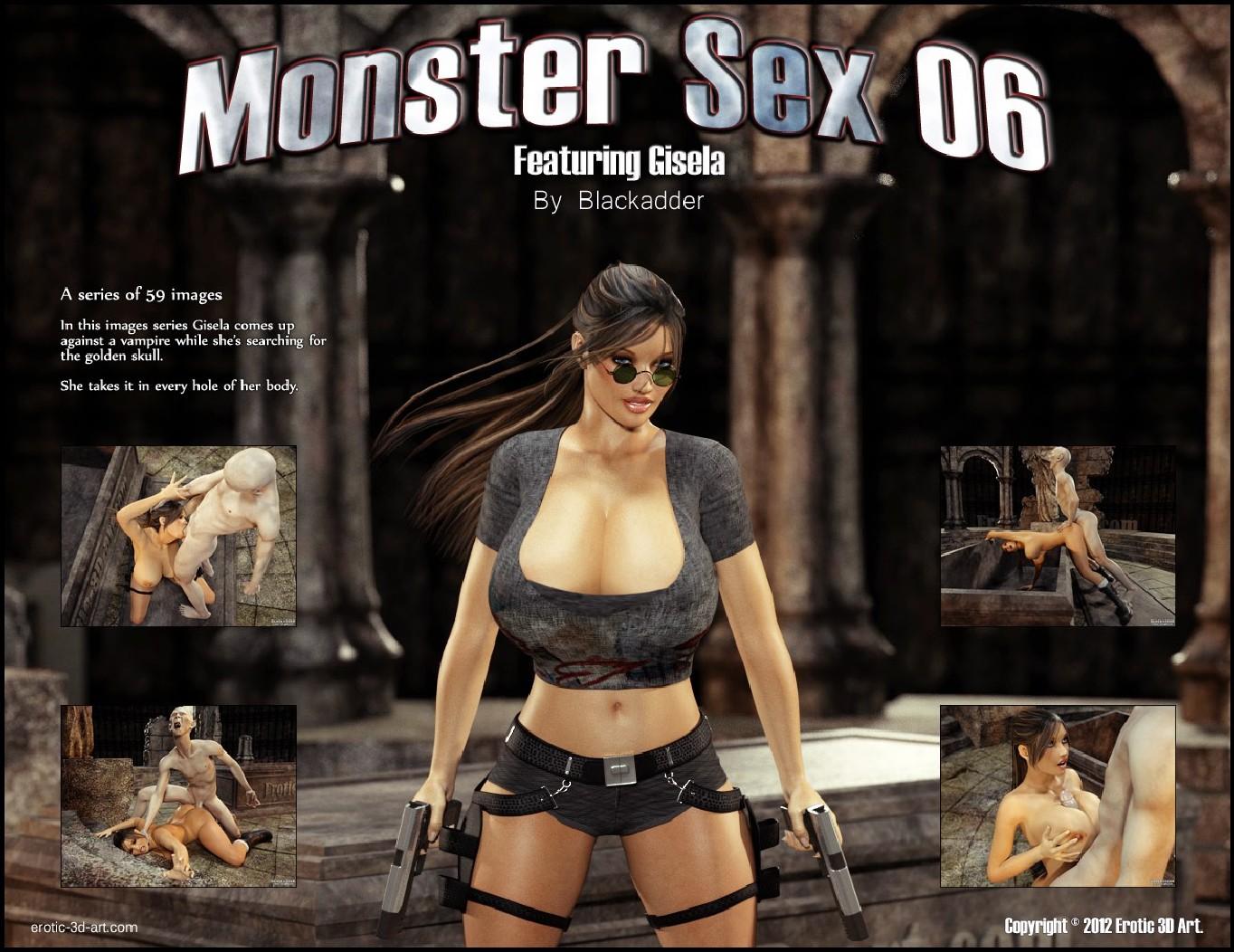 Секс с монстром комиксы без скачивания фото 590-85