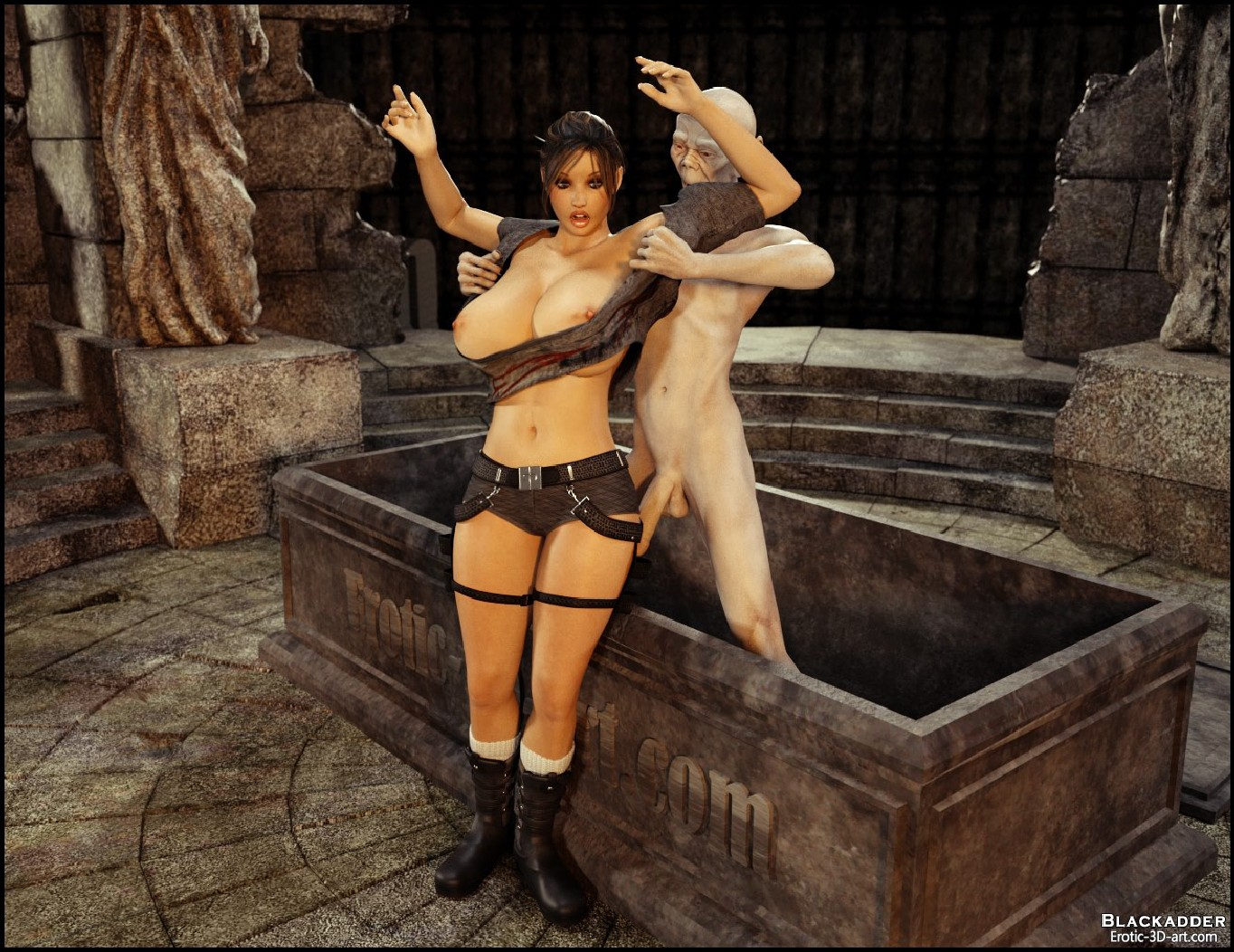 Hentai 3d tomb raider monster download gratis xxx toons