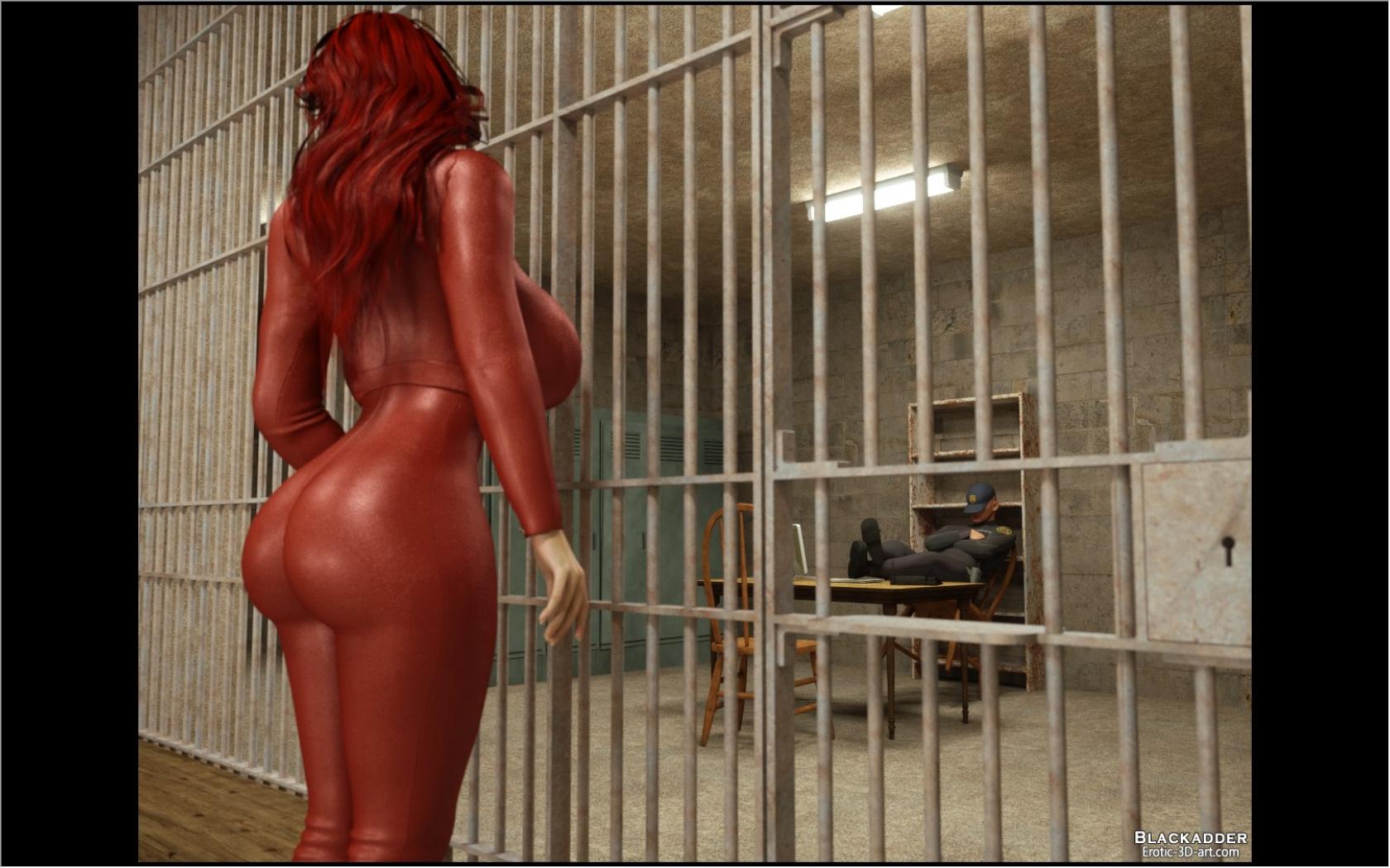 Free 3d prison sex hentia video