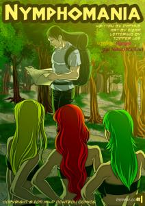 Нимфомания. Мифический комикс. [13]