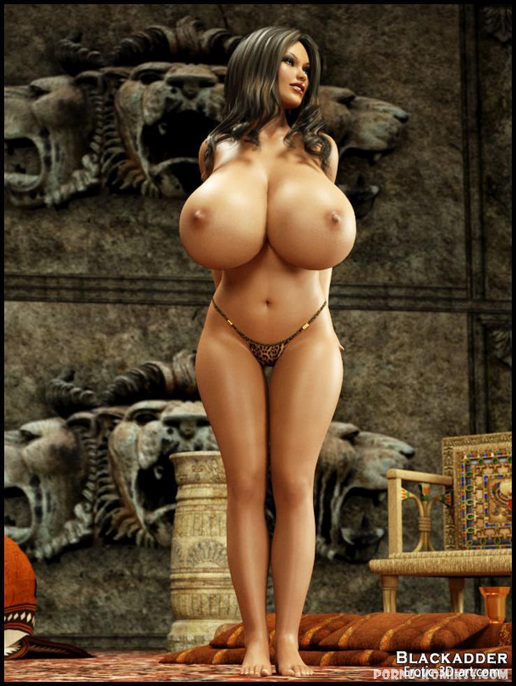 Большие груди порно 3d