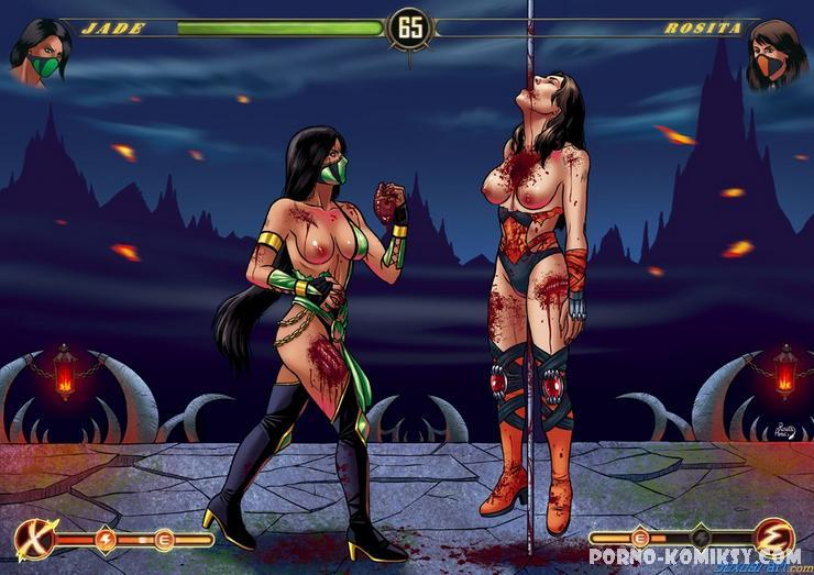 Онлайн порно mortal combat