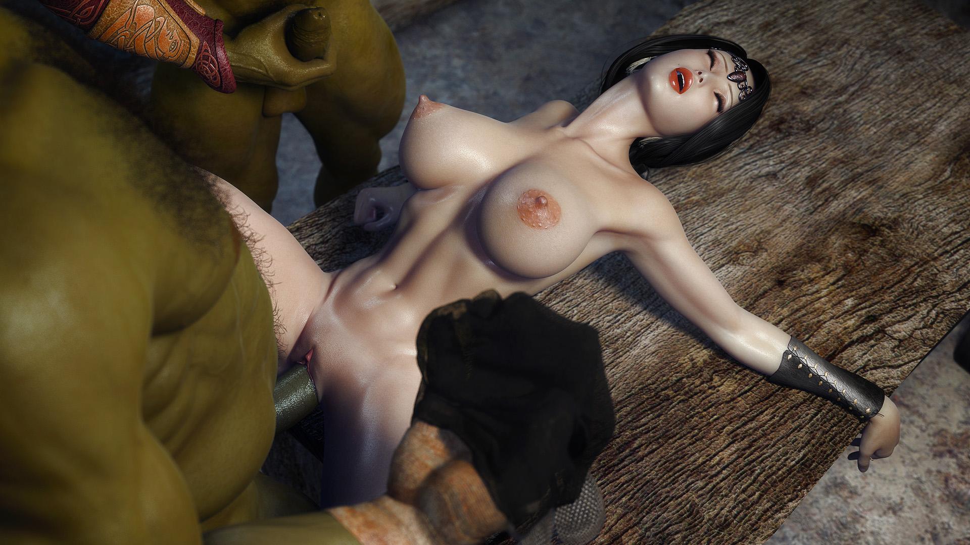 3Д порно мультики, аниме подборка