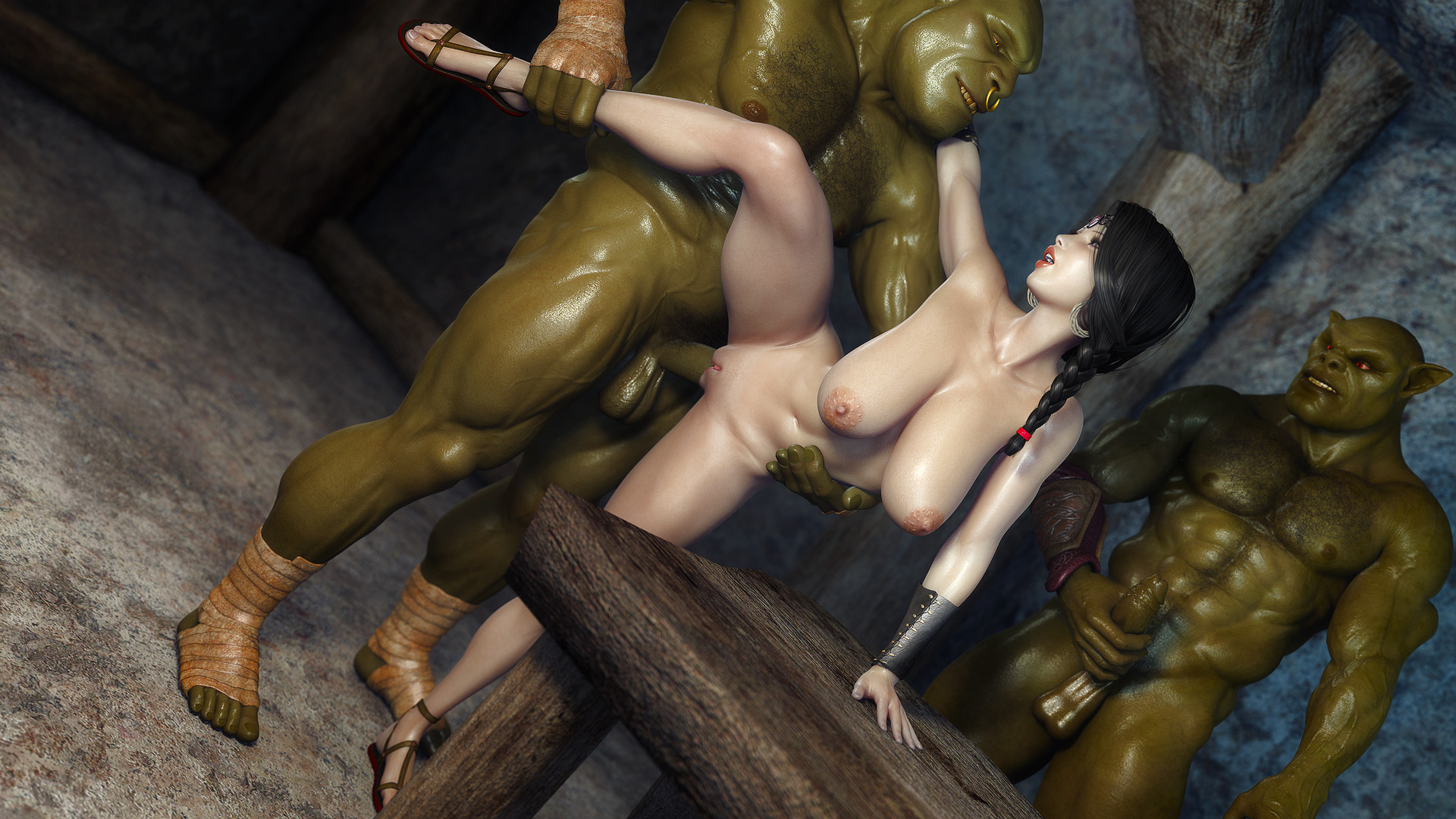 Lord of the g-string orc fuck smut scenes