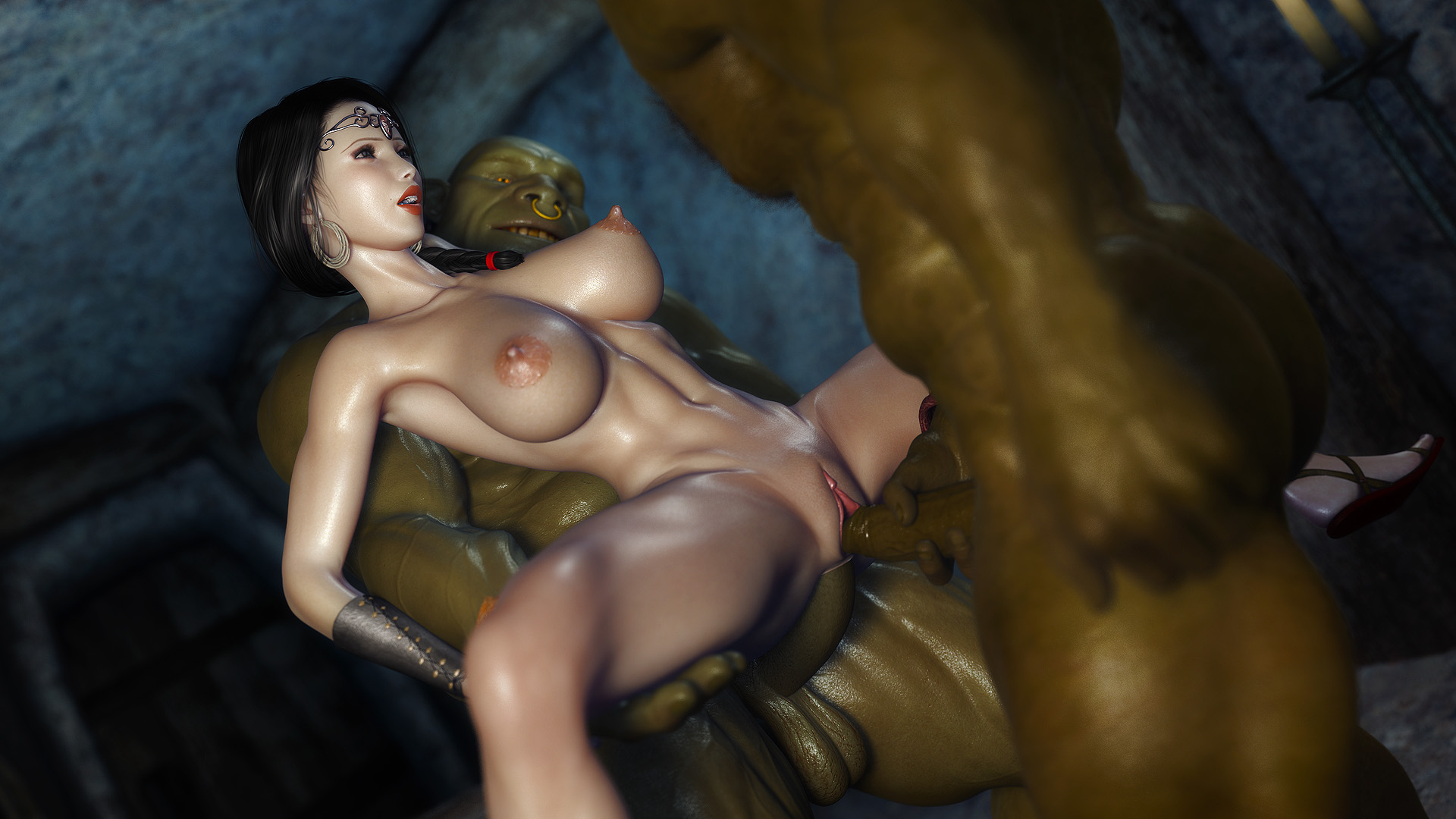 Two orc fuck princess 3d fucks gallery