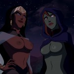 1229095-Backdoorgoat-DC-DCAU-Miss_Martian-Young_Justice-queen_bee