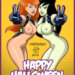 1244024-CallMePo-Dirty_Pair-Halloween-Kei-Kim_Possible-Kimberly_Ann_Possible-Phillipthe2-Shego-cosplay-yuri