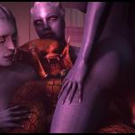 1077900-Asari-Liara_TSoni-Mass_Effect-Mass_Effect_2-Morinth-Predator-Samara-TheStrayanSnip3r-crossover