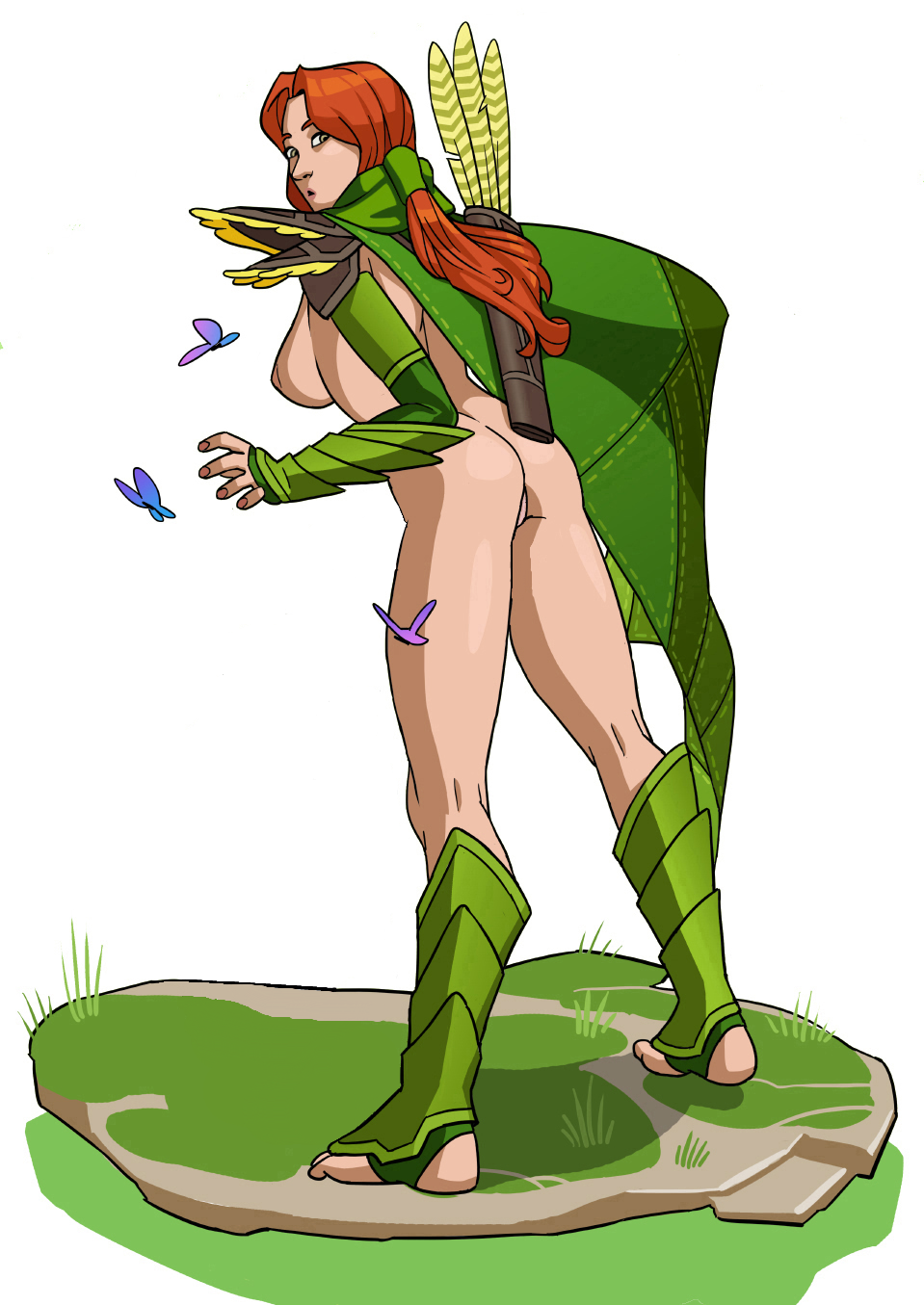 Windrunner naked sexy movie