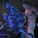 1191559-Asari-Commander_Shepard-Huggybear-Liara_TSoni-Mass_Effect-Mass_Effect_3-Samara