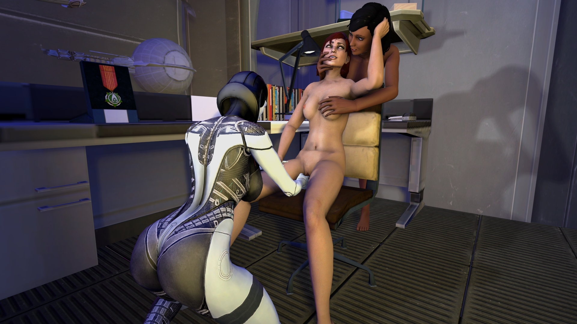 Liara off of mass effect naked henai adult comic
