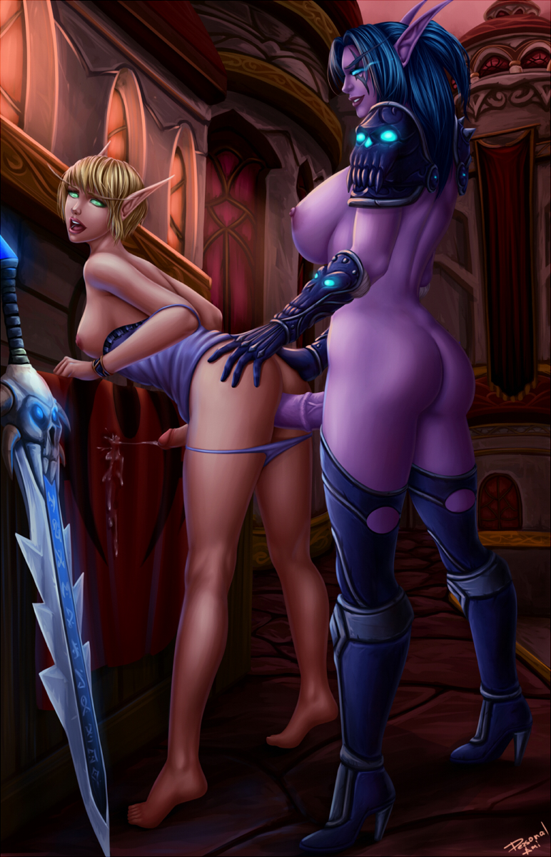 World of warcraft porn night elf and  softcore picture