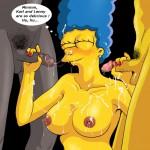 1109182 - Carl_Carlson Lenny_Leonard Marge_Simpson The_Simpsons