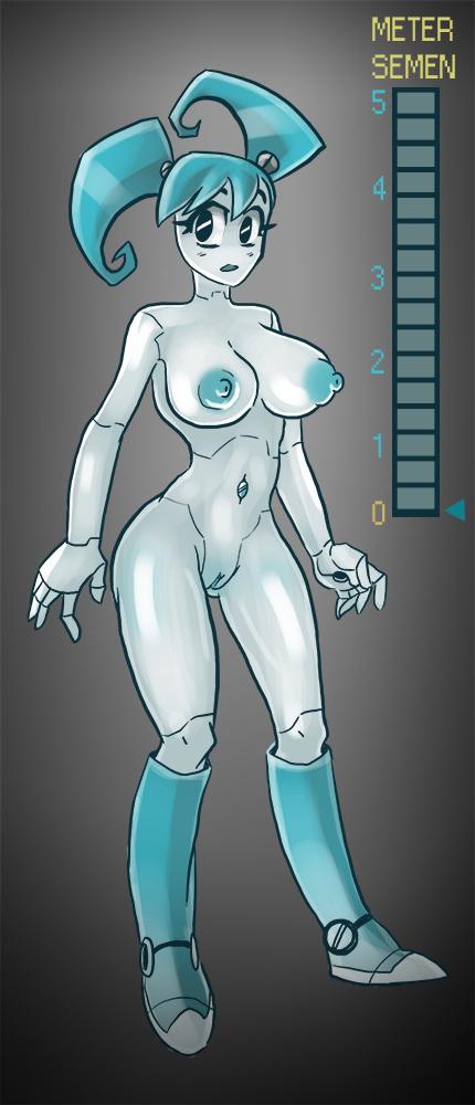 порно мультик джени девочка робот
