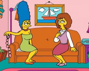 Симпсоны — секс втроём [10]