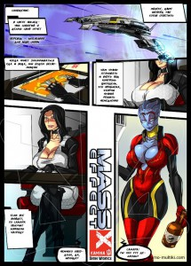 Самара соблазняет Миранду (4) - Mass Effect