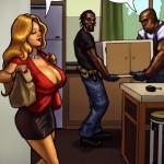 Большой ремонт - порно комикс (comixhere.xyz) (15)