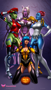 Mystique Marvel [18]