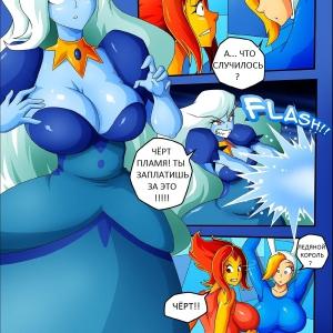 Adventure time Ice age (Время приключений Ледниковый период) (comixhere.xyz) (7)