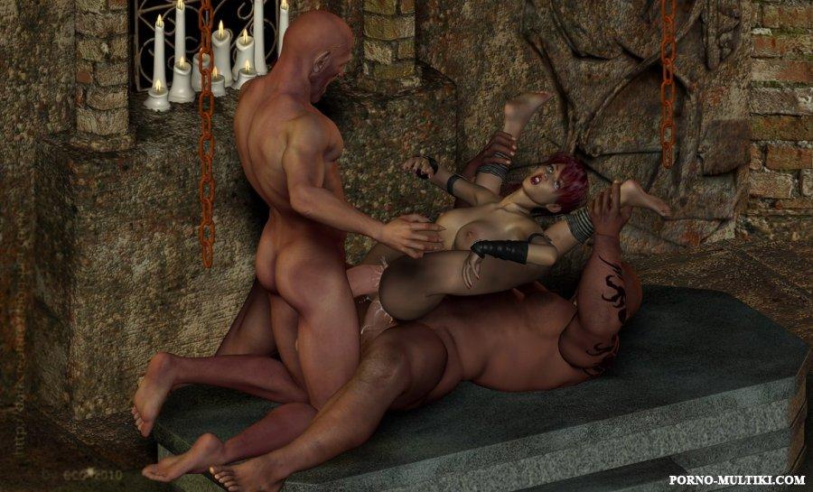 порно в плену