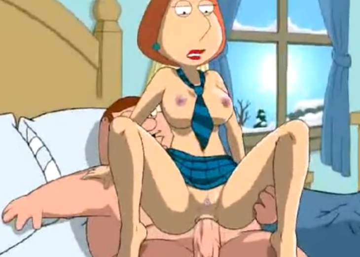 Family Guy porn in bedroom