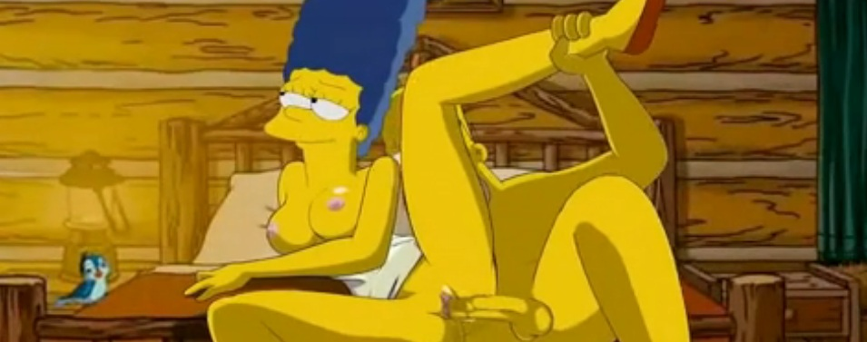 Homer loves pounding Marges