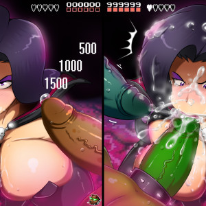 1377690 - Battletoads Dark_Queen Gmeen Pimple Rash Zitz