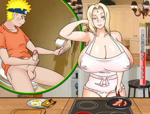 Тсунаде и Наруто (Tsunade and Naruto)