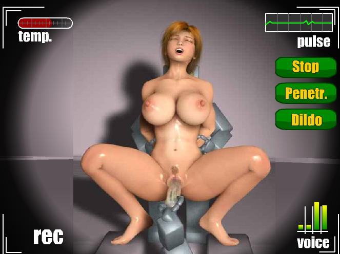 Девушка робот для секса
