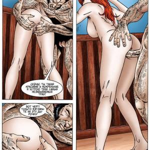 порно комикс рыжие волосы