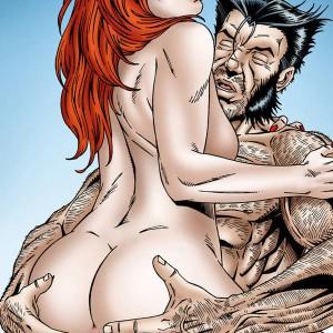 порно комикс рыжая, милфтун, супер герои комикс, хентай манга