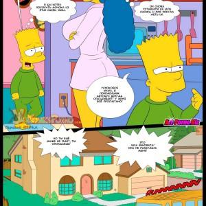 симпсоны порно комиксы, мультфильмы порно комиксы, инцест мать и сын