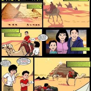 порно комиксы египетская магия