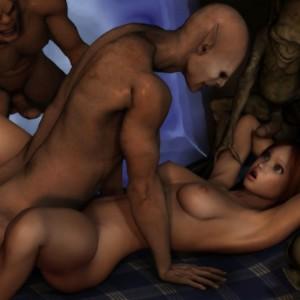Порно картинки монстры