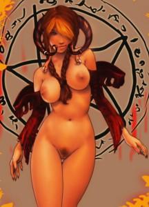 порно картинки демоны